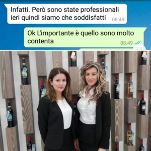 Copagri hostess fiera Vinitaly